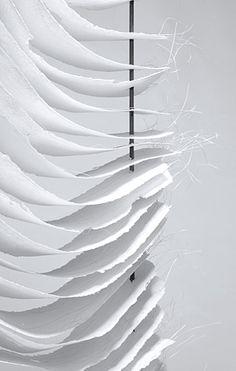 Traudel Stahl | Himmelsleiter, 2012 | paper