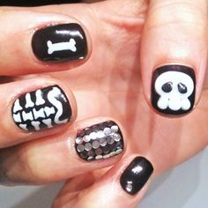 Halloween nails!!