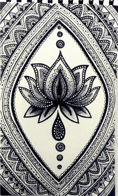 How to draw a Mandala Zantangle Art, Pen Art, Mandalas Drawing, Mandala Painting, Mandala Design, Doodle Art, Doodle Drawings, Dibujos Zentangle Art, Henna Mandala