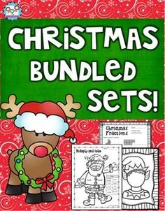This product is a BUNDLED SET of my Christmas Mega Pack and my Christmas Holiday Pack. All of these activities are tied to the common core. You will received 129 pages of Christmas and holiday activities that cover reading, writing (nonfiction and creative writing), and math activities.