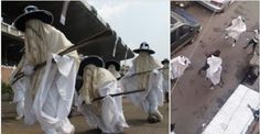 Welcome To Khris Blog: See Video Of How Eyo Masquerades Were Fighting The...