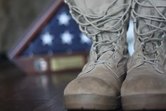 http://soldieroffinance.com/    My combat boots from Iraq.