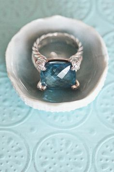 I have this ring in the deep blue. Will wear on my right hand at the wedding.