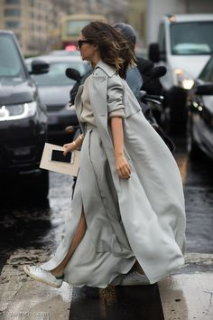 Nasiba Adilova at Elie Saab Couture SS2015