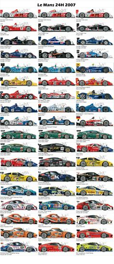 Le Mans 2007 . Compilation from agence-archimede.com