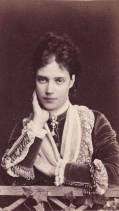 Tsarin Maria Feodorovna of Russia -1881