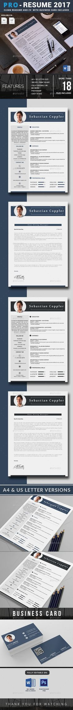 Resume Cv template Professional resume