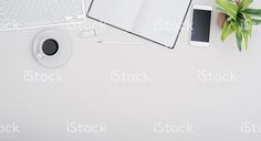 Office desk header royalty-free stock photo