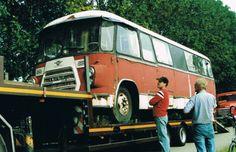 Daf bus met kikkerfront - Daf klassieke truck en onderdelen - Daf A 1100 T M de Daf A 3200 kikkerdafmodellen - classictruckmarkt.nl