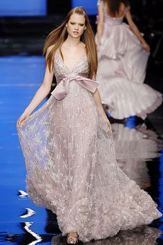 Elie Saab Spring 2007 Couture Collection Slideshow on Style.com