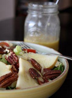 Apple, Nut and Cheese Salad | AggiesKitchen.com