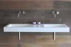 Wash basins | Wash basins | Base double basin | Not Only White. Check it out on Architonic