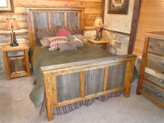 Customizable Barnwood Bedroom Furniture- Timbercreek Collection