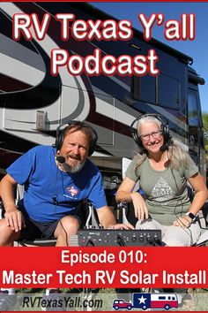 Tim and Austin Klenk of Master Tech RV Custom Coach and Marine talk about the work their team is doing to build our dream RV solar and lithium battery system. #podcast #rvlife #rvsolar #rvmods #lithium #fulltimerv #rvpodcast #rvtexasyall Rv Parks, State Parks, Buying An Rv, Rv Travel, Rv Life, New People, Camping Hacks, What Is Like, Rv Living