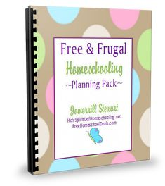 It's my birthday. ::Throwing confetti:: So here's a little something special for YOU. ;) The Free & Frugal Homeschool Planning Pack is now available for