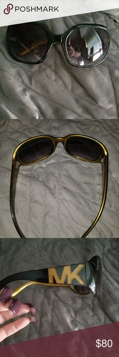 FINAL PRICE.Authentic Michael Kors sunglasses nwot Just been sitting in my storage box for sunglasses. No lense scratches,  I never wore them Michael Kors Accessories Sunglasses