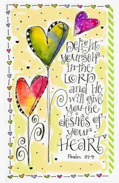 """Art du Jour by Martha Lever: """"Delightful"""" Hearts--Week 25 of DLP"""