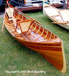 I would love to, someday, build a boat, like a sailing one, or canoe.