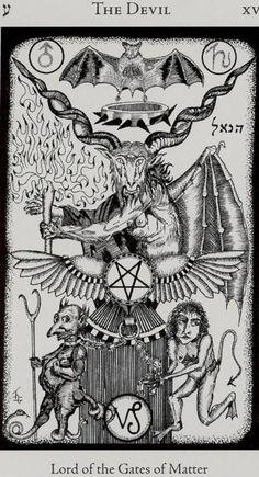 The Devil - Hermetic Tarot
