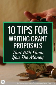 10 Tips for Writing Grant Proposals That Will Show You the Money #howtogethimtopropose Grants For Teachers, Grants For College, Financial Aid For College, Scholarships For College, College Students, Grant Proposal Writing, Grant Writing, Writing Tips, Grant Application