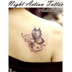 Butterfly Tattoos ❤ liked on Polyvore featuring accessories, body art and tattoos