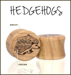 Omerica Organic Hedgehog plugs.  Use rep code LimyGirl for 20% off your first order.