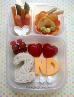 Lunch Made Easy: Back to School Bento - Second Grade! @easylunchboxes