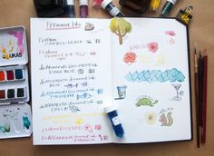 Which waterproof ink is right for you? Check out the Well Appointed Desk's Ink Review of Waterproof & Permanent Inks!