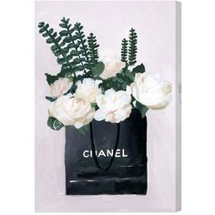 Oliver Gal Precious Finds Canvas Wall Art ($151) ❤ liked on Polyvore featuring home, home decor, wall art, pale pink, stretched canvas, canvas home decor and canvas wall art