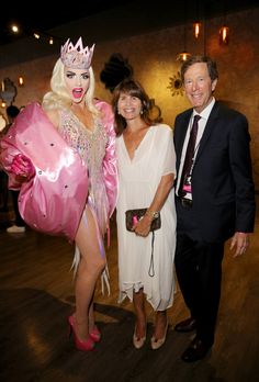 Alyssa Edwards Photos Photos - (L-R) Alyssa Edwards, guest and Nyx Cosmetics CEO Scott Friedman at the 2017 NYX Professional Makeup FACE Awards at The Shrine Auditorium on August 19, 2017 in Los Angeles, California. NYX Professional Makeup - Face Awards 2017