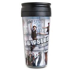 Disney on Broadway: Newsies The Musical Travel Mug