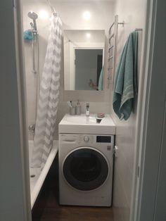 House Design, Home Appliances, Home, Laundry Room, House, Room, Interior, Powder Room, Interior Decorating