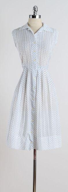 Easy Breezy . vintage 1950s dress . vintage by millstreetvintage