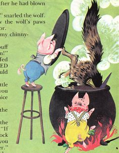 The Three Little Pigs - Deans A Book of Fairy Tales
