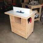 Ana White   Patrick's Router Table Plans - DIY Projects