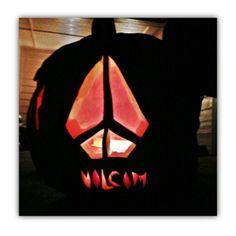 Halloween - Volcom pumpkin