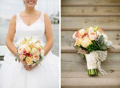 Romantic Southern Bouquet | Korie Lynn Photography