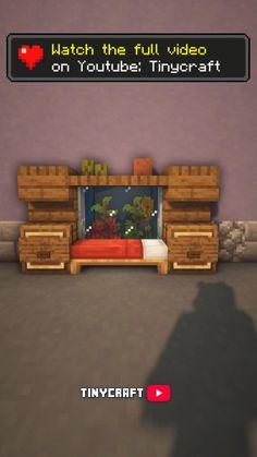 Minecraft Mansion, Minecraft Cottage, Cute Minecraft Houses, Minecraft Plans, Amazing Minecraft, Minecraft Bedroom, Minecraft Blueprints, Minecraft Crafts, Minecraft Furniture