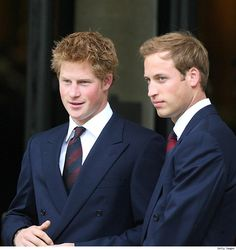 The Princes.  All royal inbreeding aside, I think that they turned out quite well!!