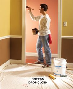 Painting tips from the pros!  Painting is the one thing I actually love to do so this is a good read!
