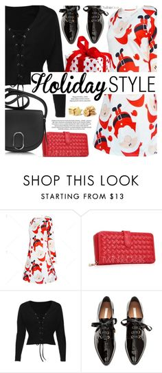 """Holiday Style"" by pokadoll ❤ liked on Polyvore featuring 3.1 Phillip Lim, xO Design, polyvoreeditorial and polyvoreset"