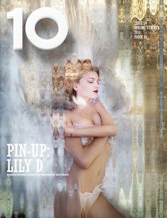 Lily Donaldson for 10 Magazine in Victoria's Secret Lingerie - Spring/Summer 2015