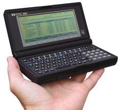 Hewlett-Packard 95LX (1991).