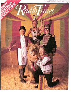 Radio Times Cover Christmas billy smarts Christmas circus jackie palmer dancers ball walkers - The heritage of Nazeing Park's current owners. Cosy Christmas, Christmas Past, Retro Christmas, Christmas Wishes, Magazine Covers, Radio Times Magazine, Old Time Radio, British Comedy, Vintage Christmas
