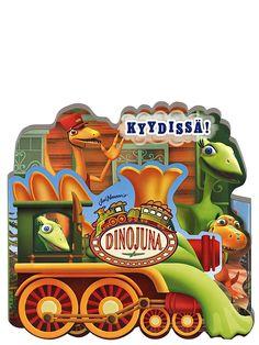 Hauska kartonkinen Dinojuna, Kyydissä! -taittokirja vie pienet lukijat esihistorialliselle matkalle Kamun ja dinoperheen kanssa! Supersuositun Dinojuna-tv-sarjan sankarit suuntaavat junakyydillä ystävänsä Tankki Triceratopsin luo ja oppivat, millainen on tämän lempeän kasvinsyöjän lounas. Dinosaurs, Bowser, Tv, Fictional Characters, Television Set, Fantasy Characters, Television