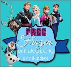 Pebbles and Piggytails: Simple FROZEN Birthday Party Ideas