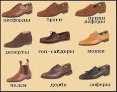 оксфорды туфли модная обувь фото