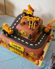 Excavator / construction birthday cake - Torte per Tutti Más