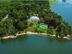 Greenwich, CT....When Copper Beech Farm first hit the market earlier this year at $190 million, it was far and away the most expensive listing, ever. Even with a recent price cut of $50 million, the estate is still the priciest home available in the U.S. The 50-acre estate holds a 13,519-square-foot home with 12 bedrooms and 9 baths on 4,000 feet of coveted waterfront facing Long Island Sound.