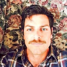 David Giuntoli moustache